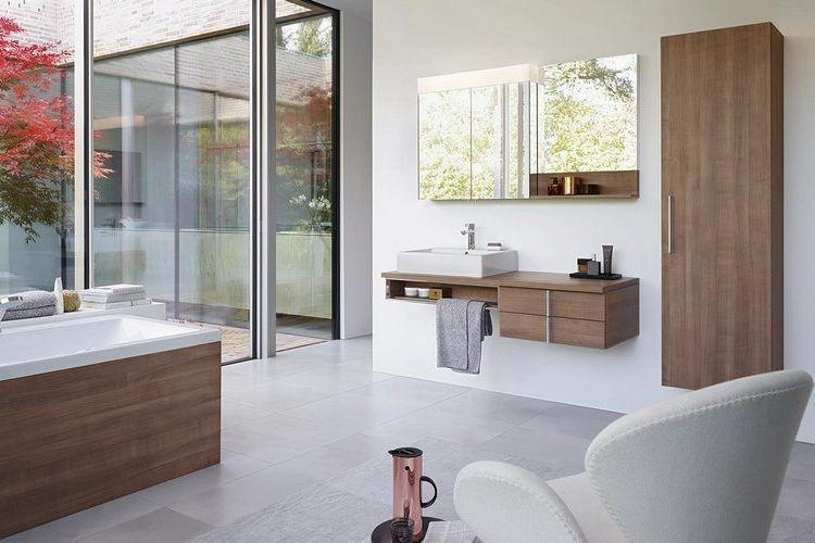 Salle de bain vero duravit salle de bains bathroom for Nouvelle tendance salle de bain 2015