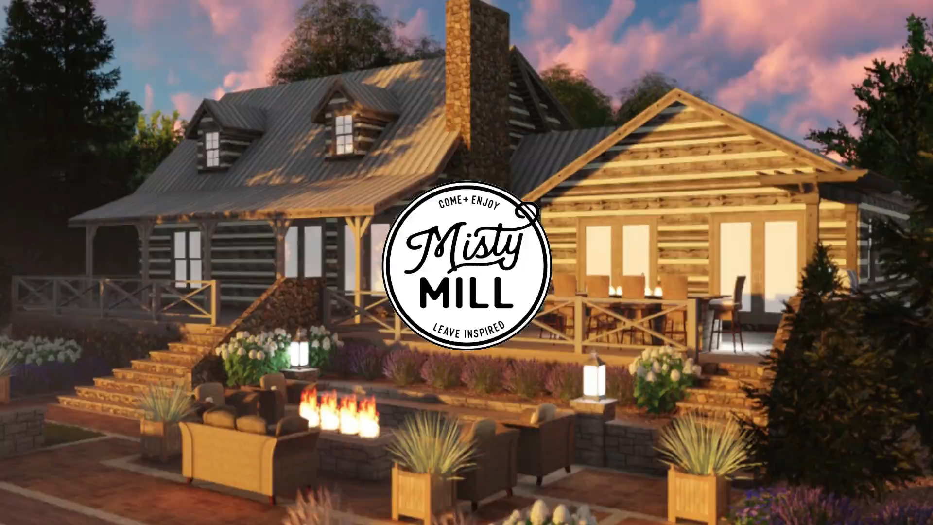 The Misty Mill Idea House, a beautiful log cabin on Lake Sinclair in Georgia, is being renovated by Chip Wade (the former host and designer for HGTV Elbow Room) and his team at Wade Works Creative. You can't have a log cabin on a lake without a garage to store all your toys. Forty6Eleven was able to incorporate a large 30' x 30' garage with doors from our client American Steel Carports. #garage #homerenovation #construction #productplacement #lakehouse #cabins
