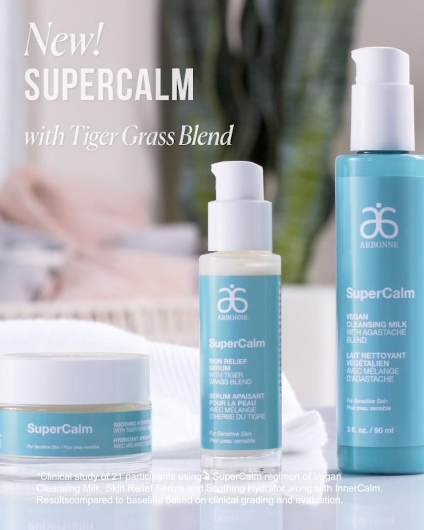 Arbonne Just Launched A New Line Of Skincare Called Supercalm That Is Specifically Formulated To Sooth Reactive Sen In 2020 Beauty Routine Checklist Skin Care Arbonne