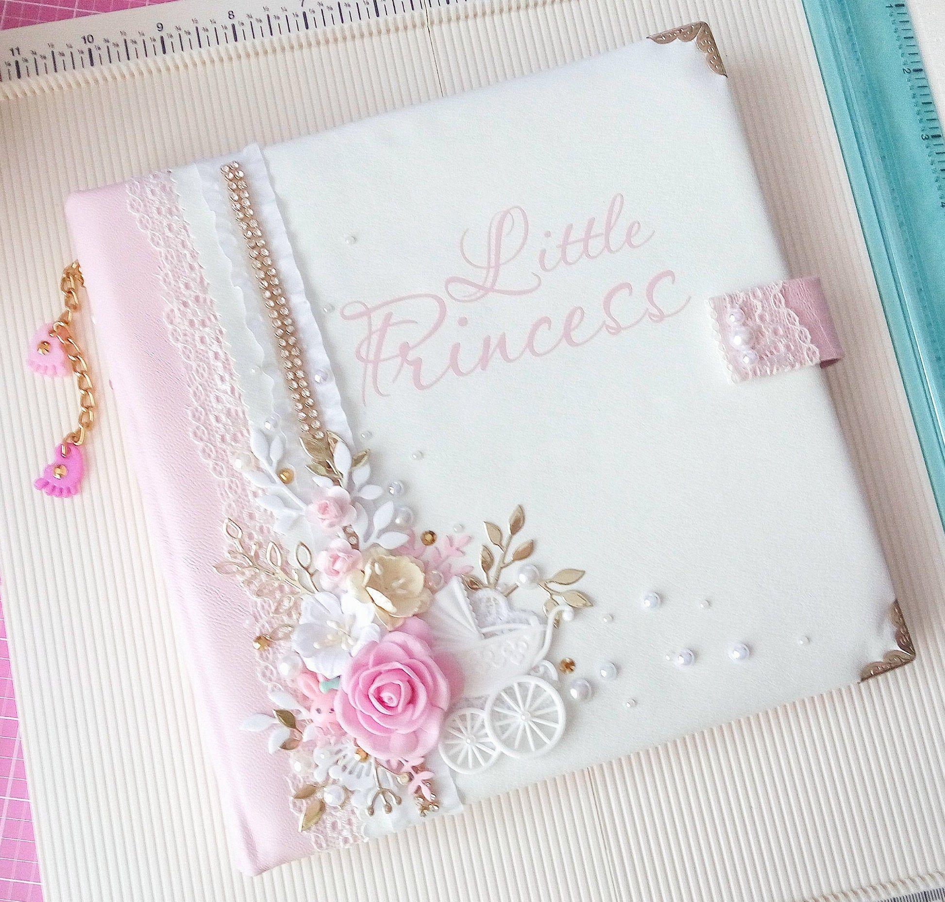 Baby memory book personalized baby photo album baby