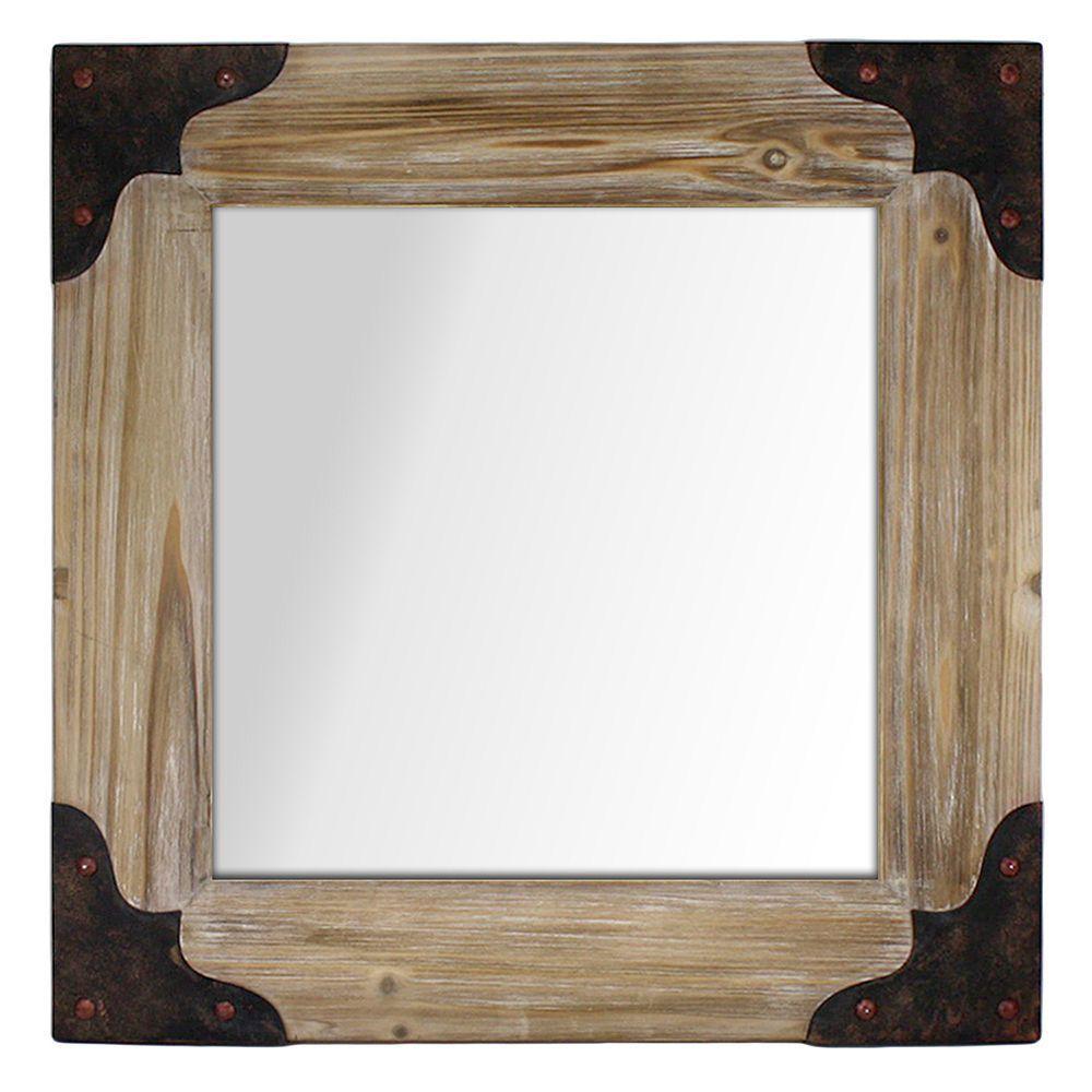 Fetco Home Decor Solis Wall Mirror, Multicolor | Products