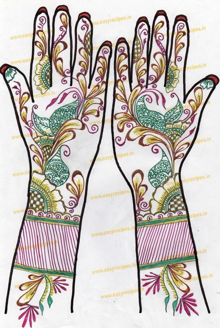 maehndi designs   Arabian Mehndi Designs: Kids Mehndi Design Easy ...