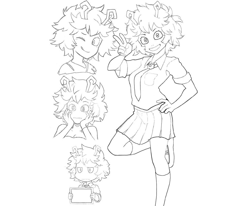 5 Top My Hero Academia Printable Coloring Pages