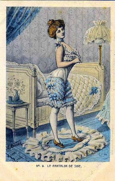 Vintage Corset Trade Card, ca. late 1800s