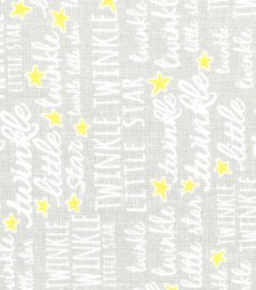 Nursery Fabric Le Grey