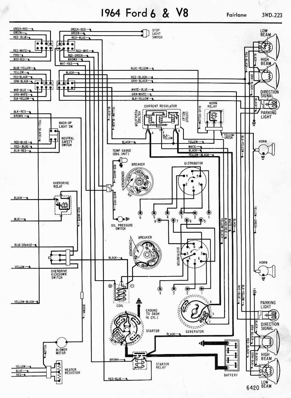 photo ford wiring diagram 1967 ford f250 wiring diagram wiring diagram1967 ford  f100 wiring schematic online wiring diagramf100 wir… | mustang engine,  diagram, wire  pinterest