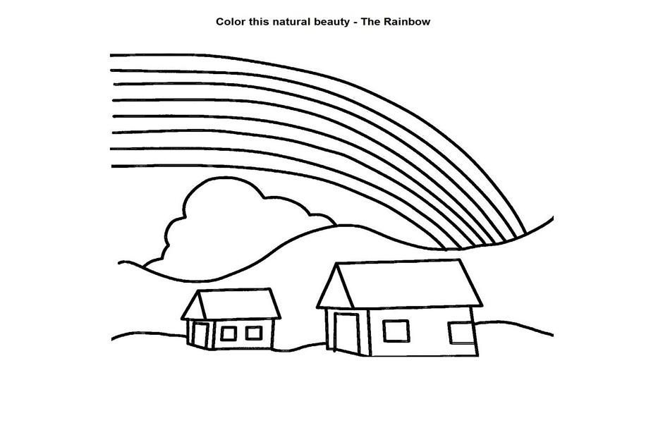 Free Printable Rainbow Coloring Pages For Kids Coloring Pages