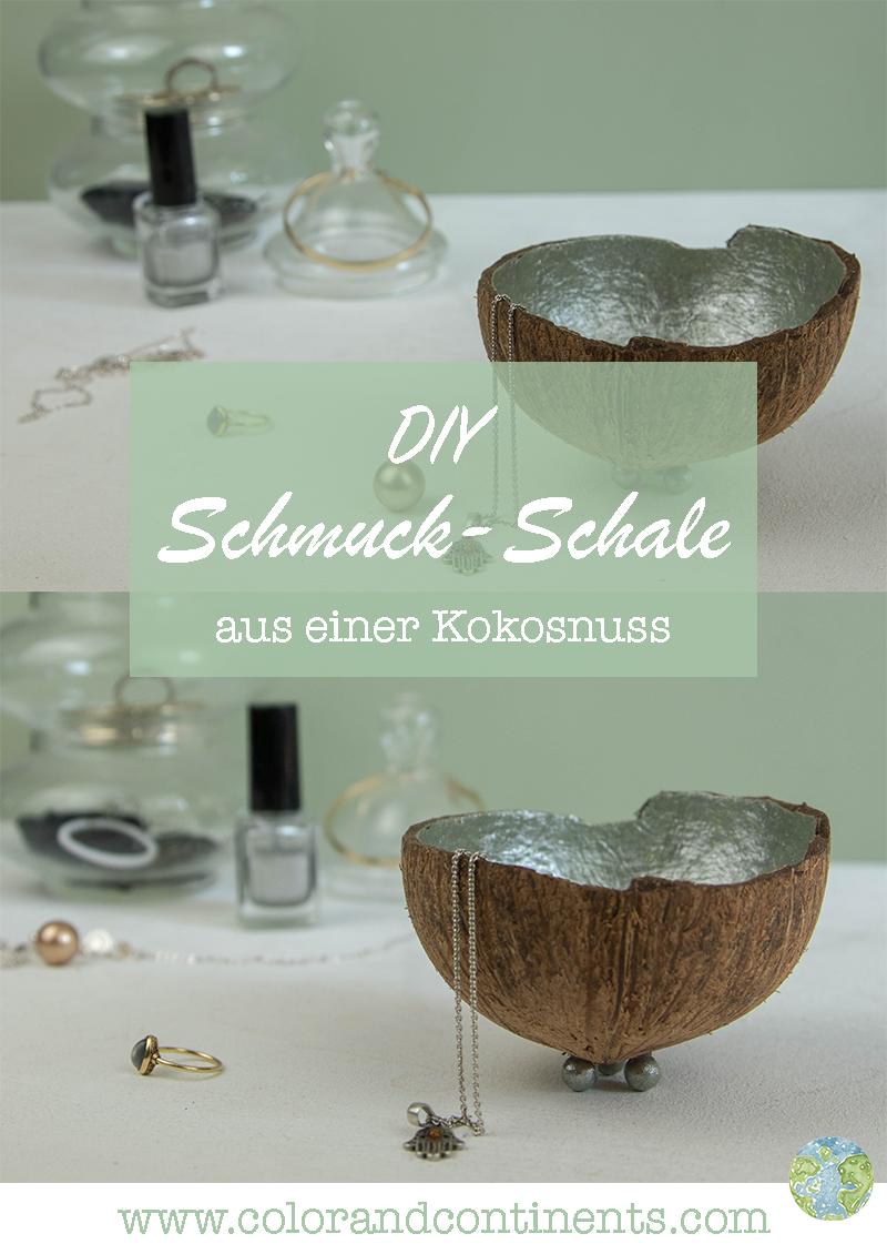 Diy Upcycling Schmuck Schale Aus Einer Kokosnuss Einfach