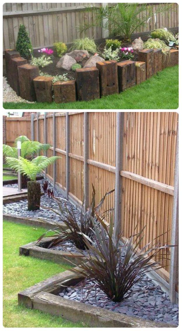 flower bed edging ideas garden