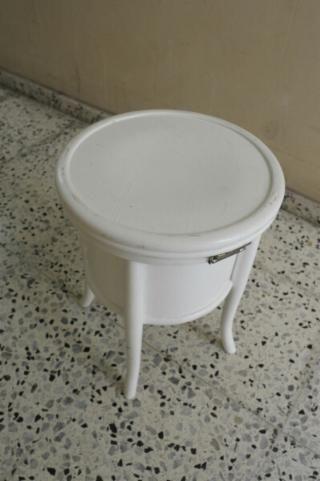 Don Pedro antiguo taburete WC