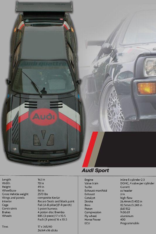 Audi Sport Quattro S1 E2 Interior