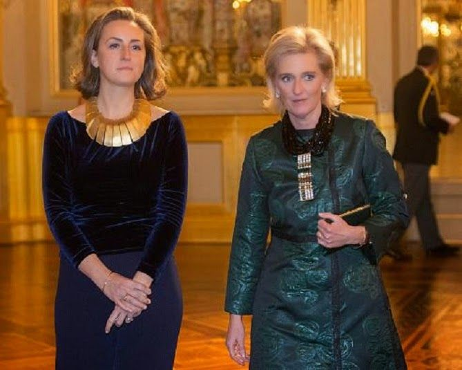 Belgian Royal Family Attends Christmas Concert At Royal Palace on December 17, 2014 in Brussel, Belgium.