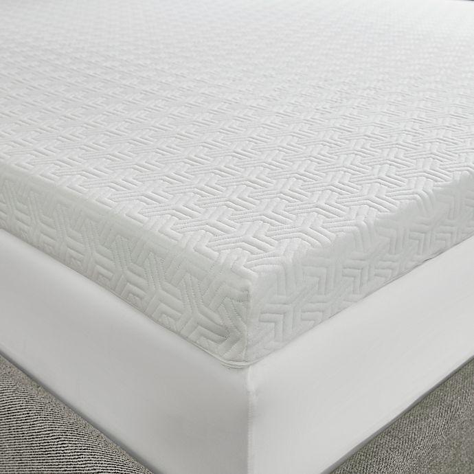 Sleep Philosophy Flexapedic 3 Inch Twin XL Foam Topper in White