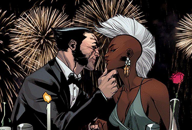 Tempestade e Wolverine