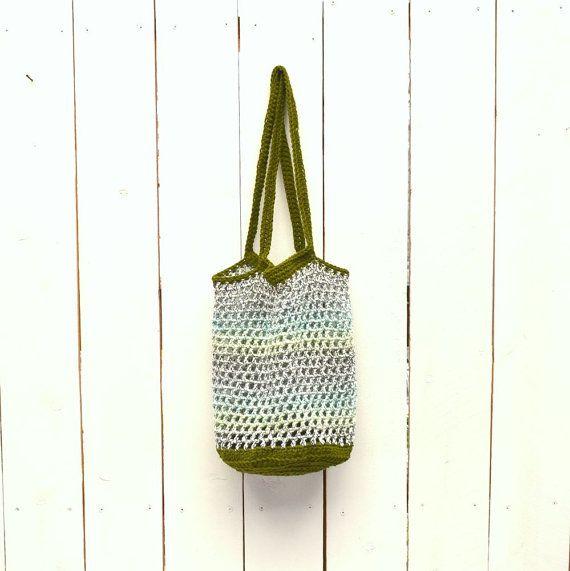 Crochet Market Bag - 25% OFF - Crochet Tote - Shopping Tote - Open ...