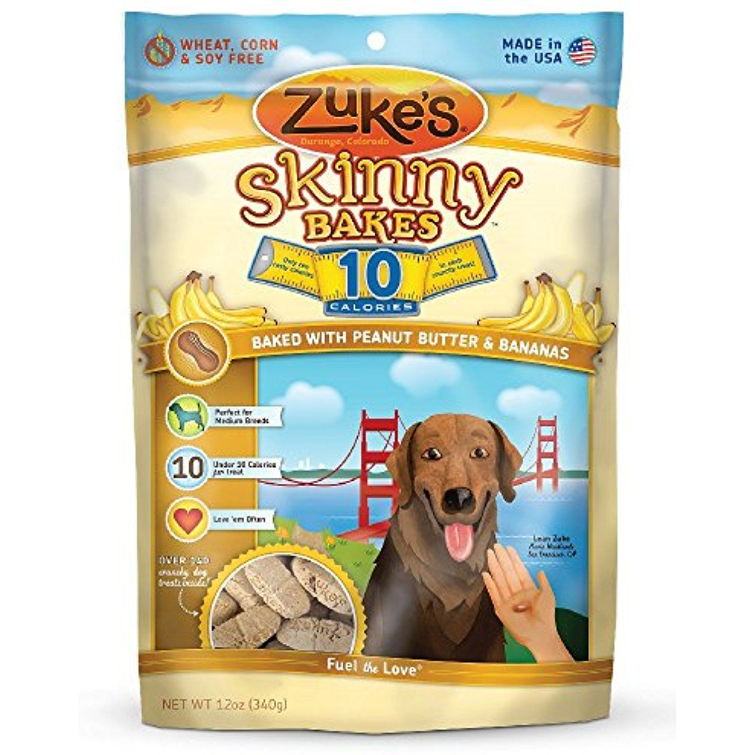 12 Ounce, Peanut Butter Dog Biscuit You can visit the