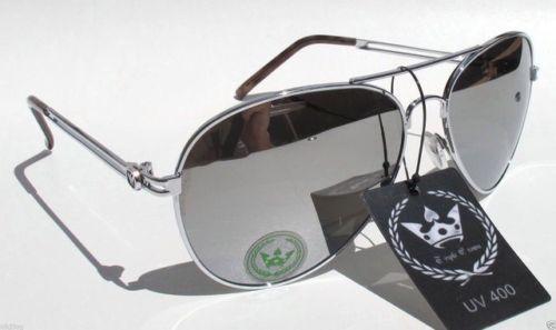 7c8d5e73b Large-Aviator-Sunglasses-Mirrored-Lenses-Silver-Frame-Triple-Crown-CHP