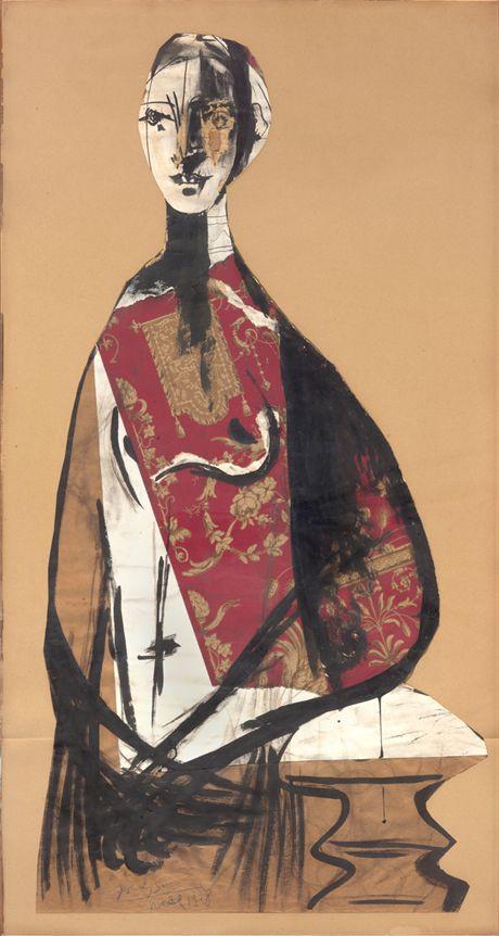 Pablo Picasso, Ritratto di Signora, 1928.