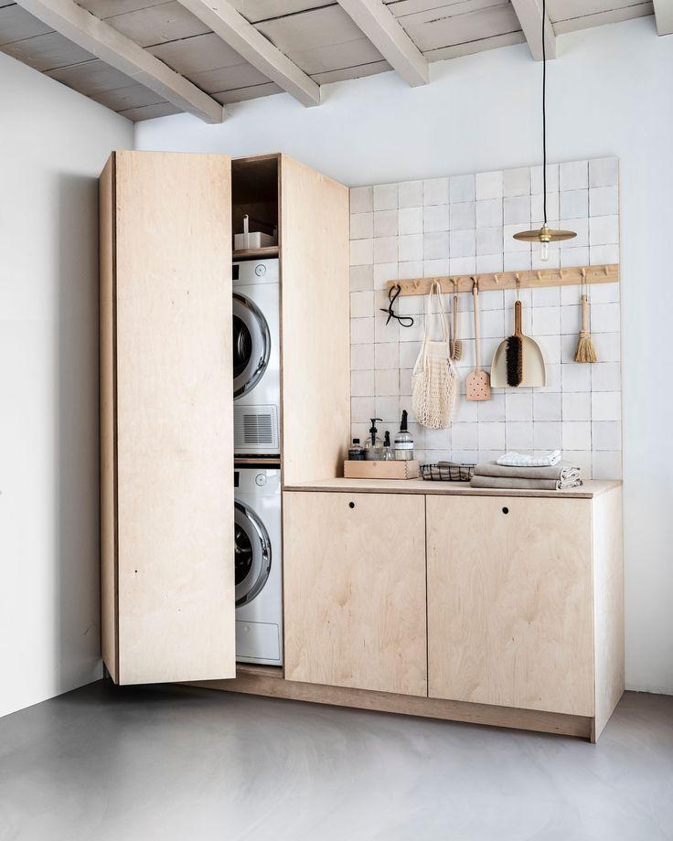 Photo of laundry room! – #laundry #room #waschmaschine #designbuanderie laundry room! – #…