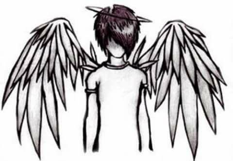 Yo Solo Soy Un Angel Apagado Dibujos A Lapiz Dibujos Dibujos