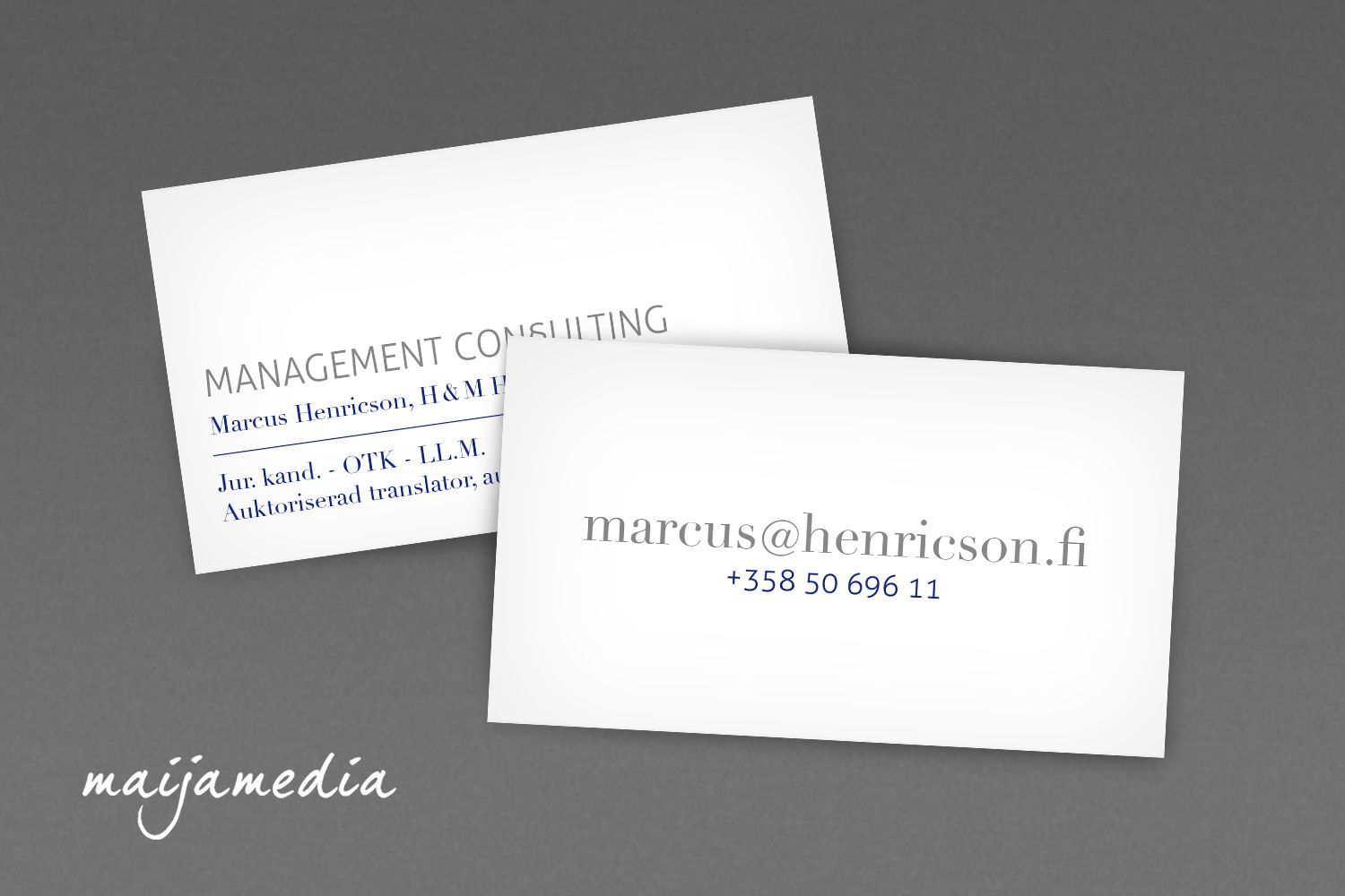 Classic business card design simple business card design by classic business card design simple business card design by maijamedia magicingreecefo Images