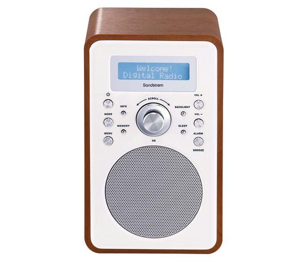 sandstrom s6vdab12 dab radio walnut dab radios pinterest dabbing and radios. Black Bedroom Furniture Sets. Home Design Ideas