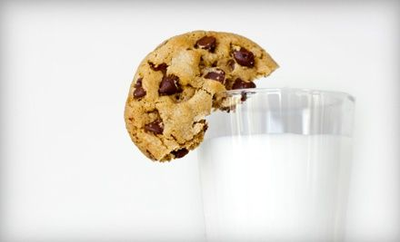 Groupon - 16 Cookies with a Quart of Milk, or One Dozen Cupcakes at Boulder Baked (Up to 45% Off). Groupon deal price: $9.90