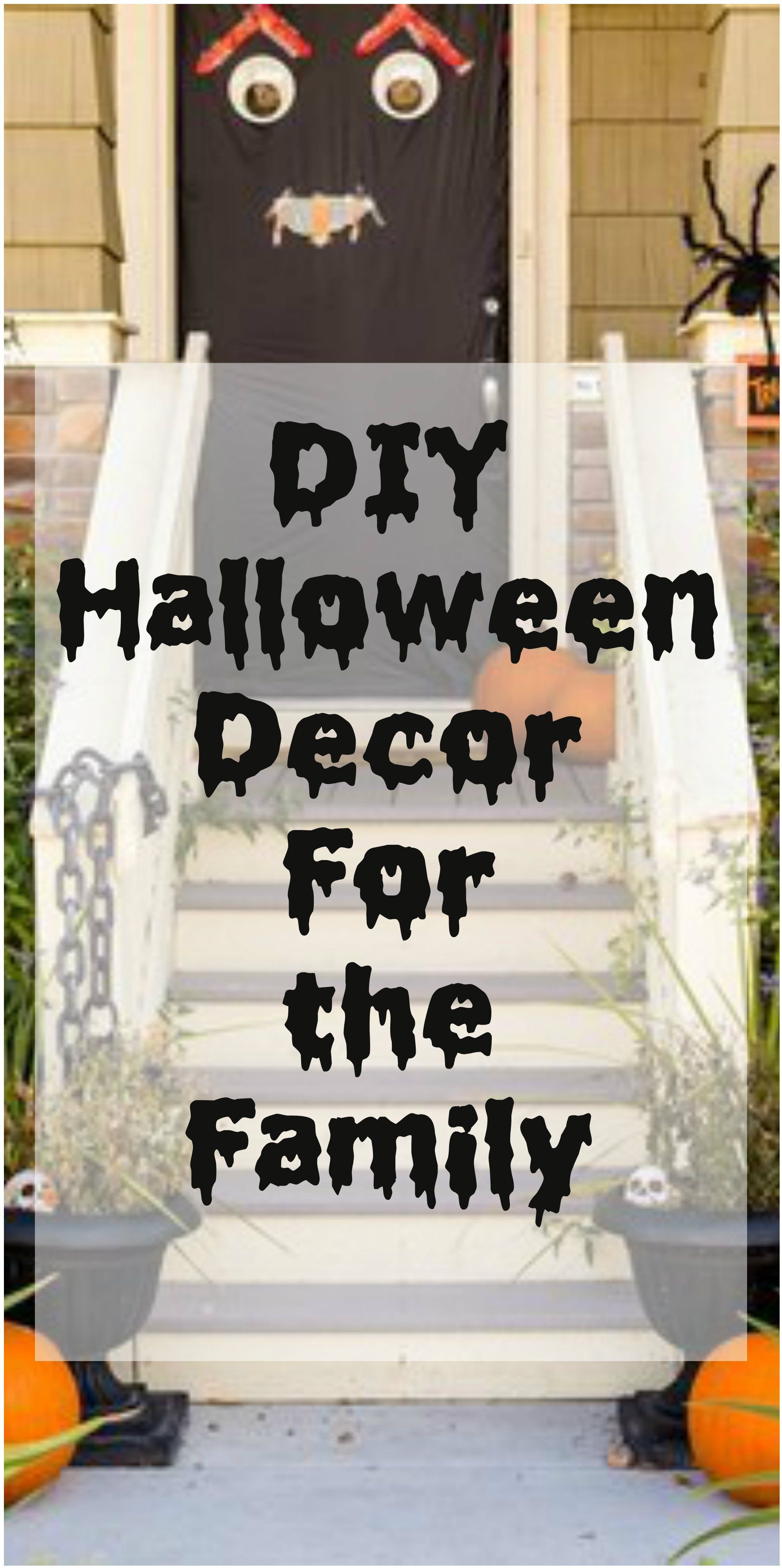 Cheap #halloweendecorations that would be fun for the whole family - Homemade Halloween Decorations