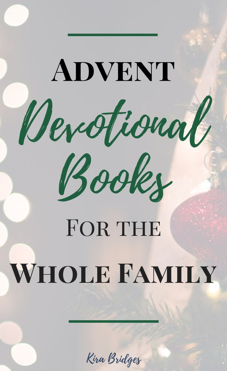 Advent devotional books for the whole family