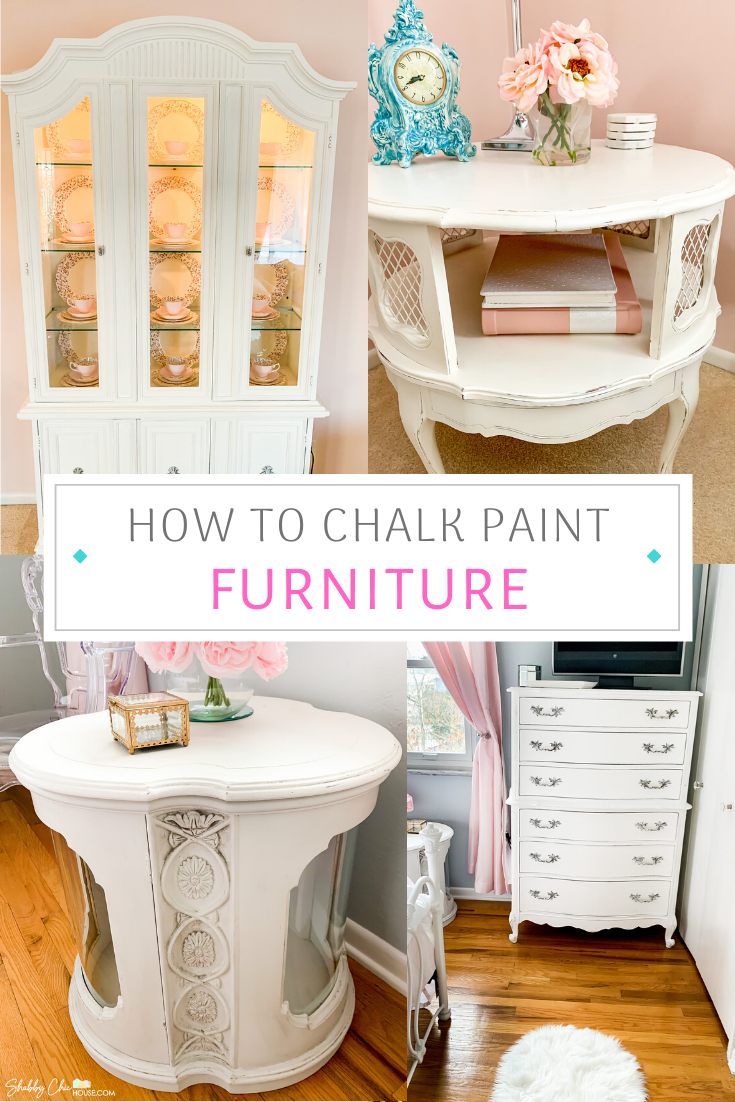 Check out some of our favorite chalk paint projects over the past few years. We have tons of awesome photos and ideas to help you with your next chalk paint project. #ChalkPaint #ChalkPainting #PaintingFurniture #AnnieSloan #MaisonBlanche