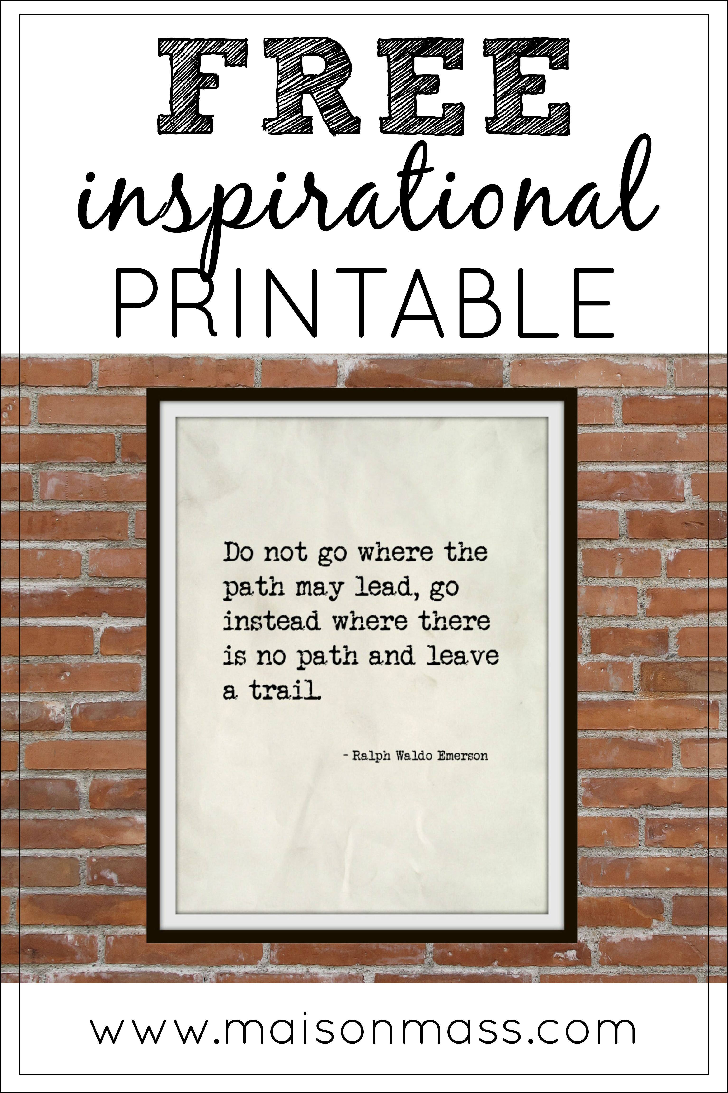 Free poster printable for your home wall art poster