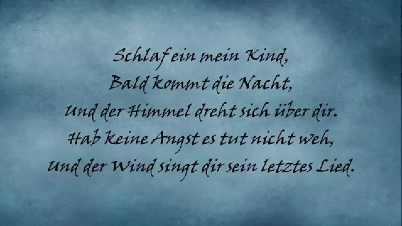 Staubkind Schlaflied Lyrics Lied Singen Angst