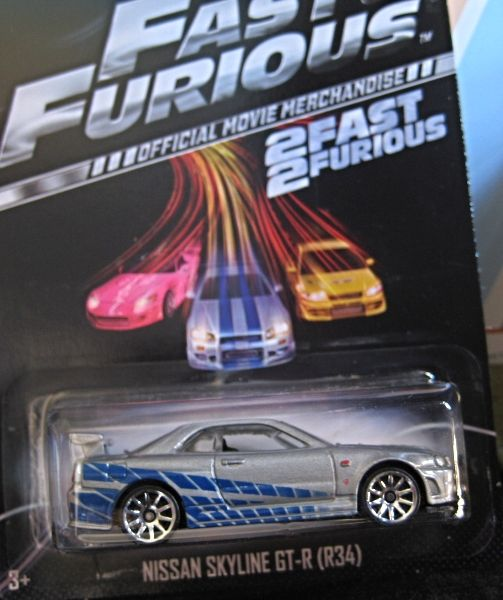 2014 Hot Wheels Nissan Skyline GT-R (R34) From 2 Fast And