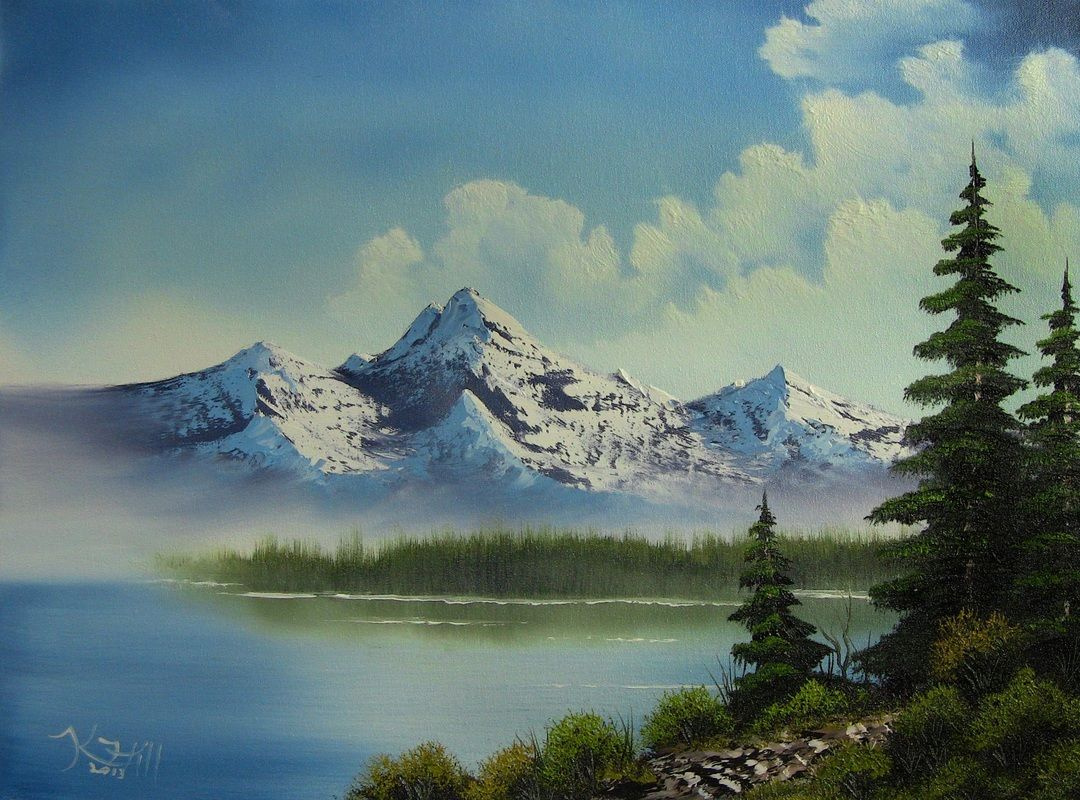 Paint With Kevin Scenery Paintings Easy Landscape Paintings Watercolor Landscape Paintings
