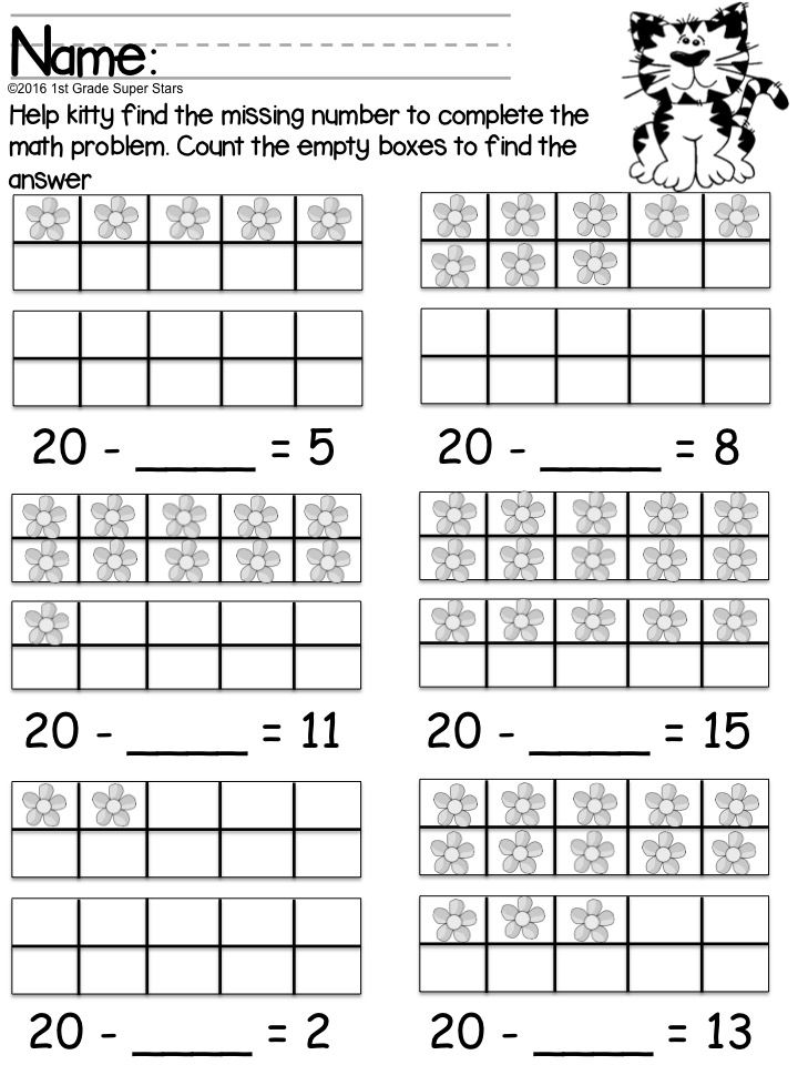 Double Ten Frame Subtraction Basic K 2 Common Core Pinterest