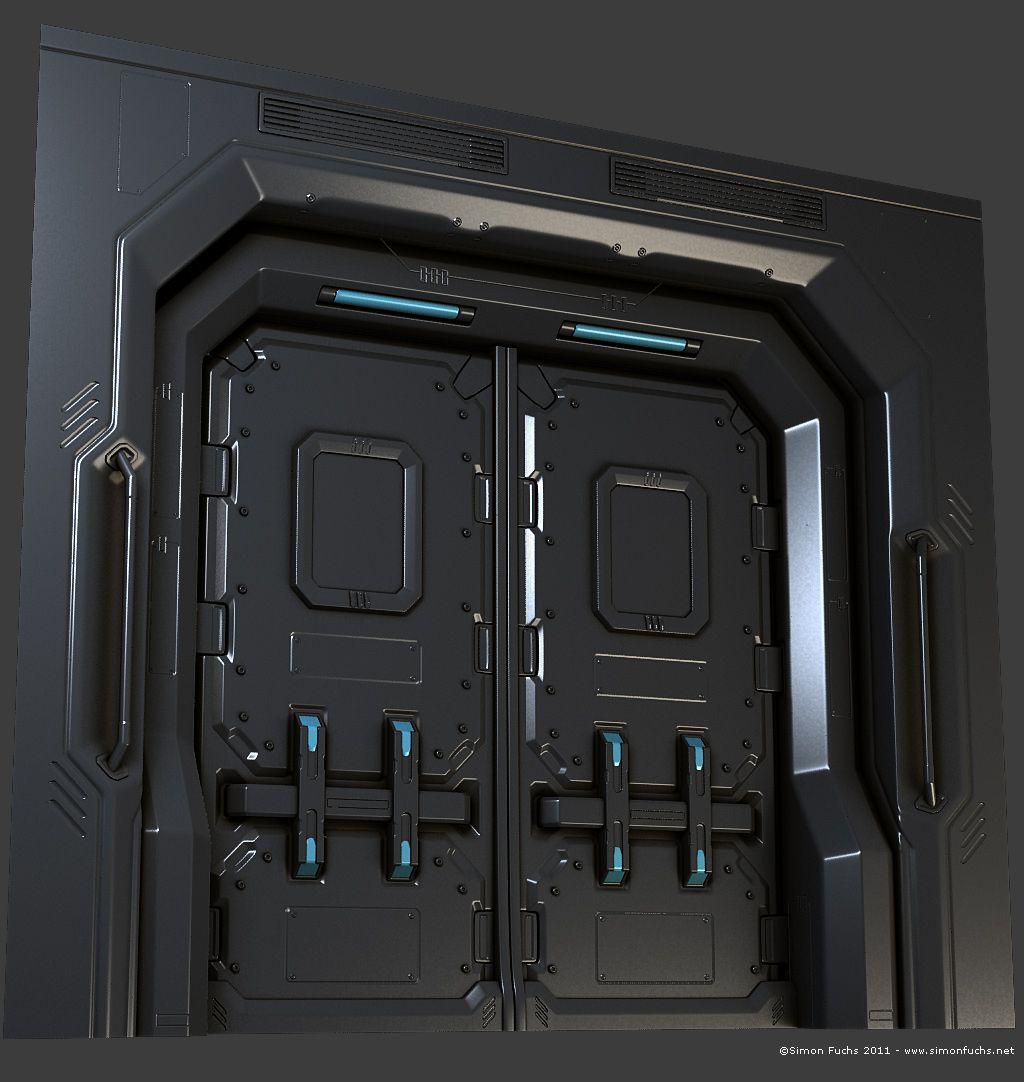 futuristic door design urban creatures