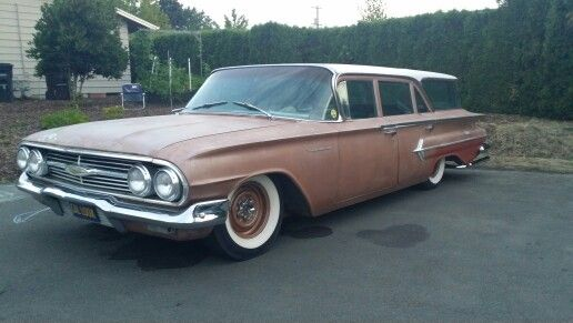 1960 Chevy Kingswood Station Wagon Chevy Detroit Steel