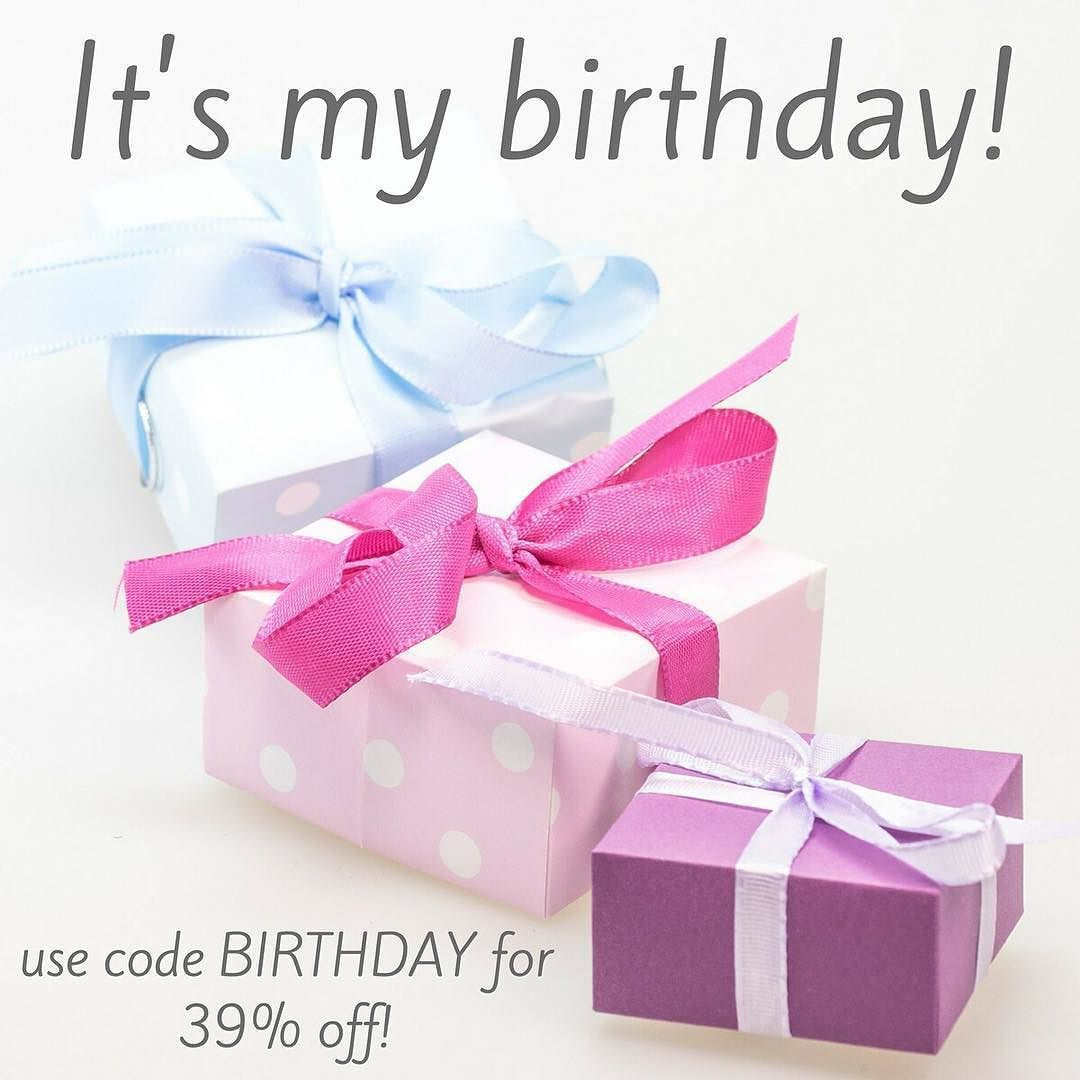 It\'s my birthday (turning 39) and I want to celebrate it together ...