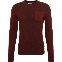 Photo of Tom Tailor Herren Sweater mit aufgesetzter Brusttasche, rot, unifarben, Gr.xxl Tom TailorTom Tailor