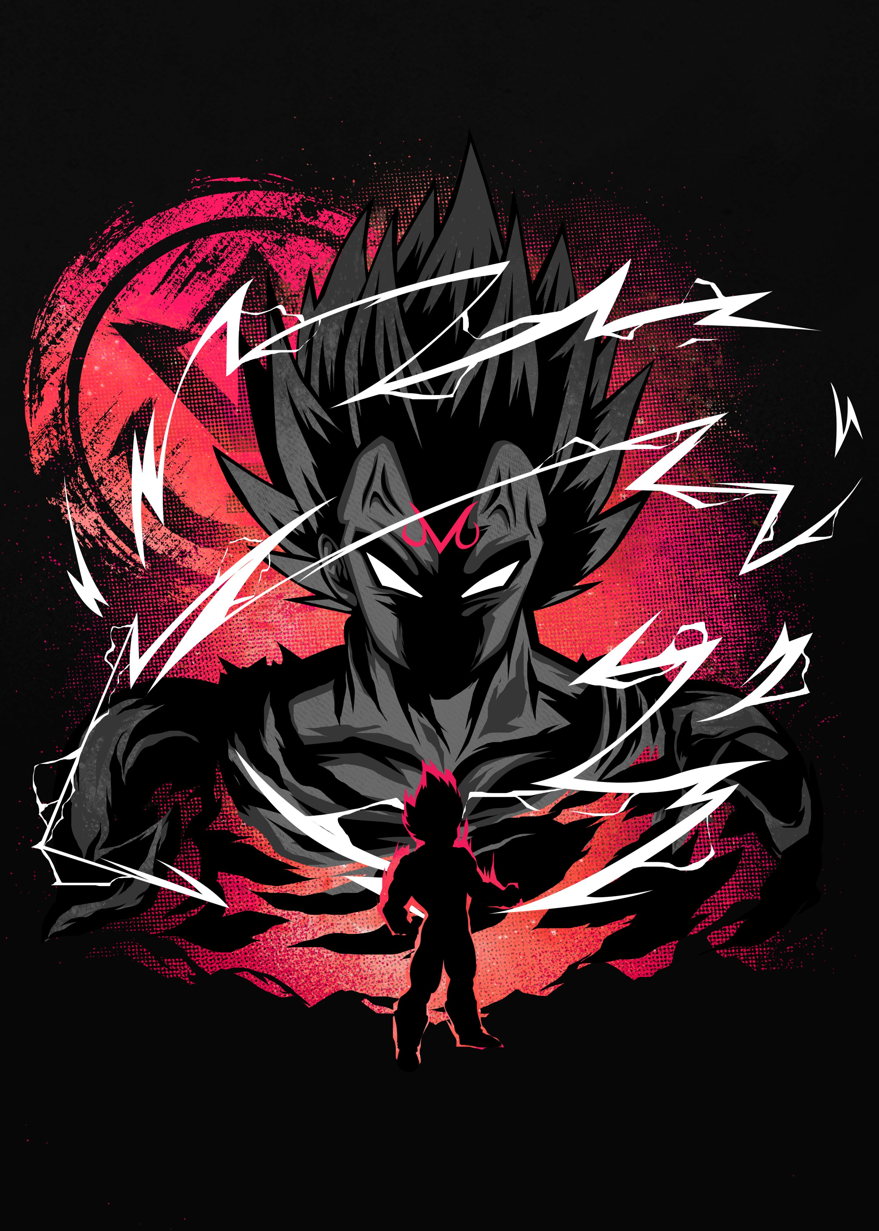 Inspired By The Greatest Fusion Dragonballz Vegeta Majinboo Dragon Ball Wallpapers Dragon Ball Super Manga Anime Dragon Ball Super