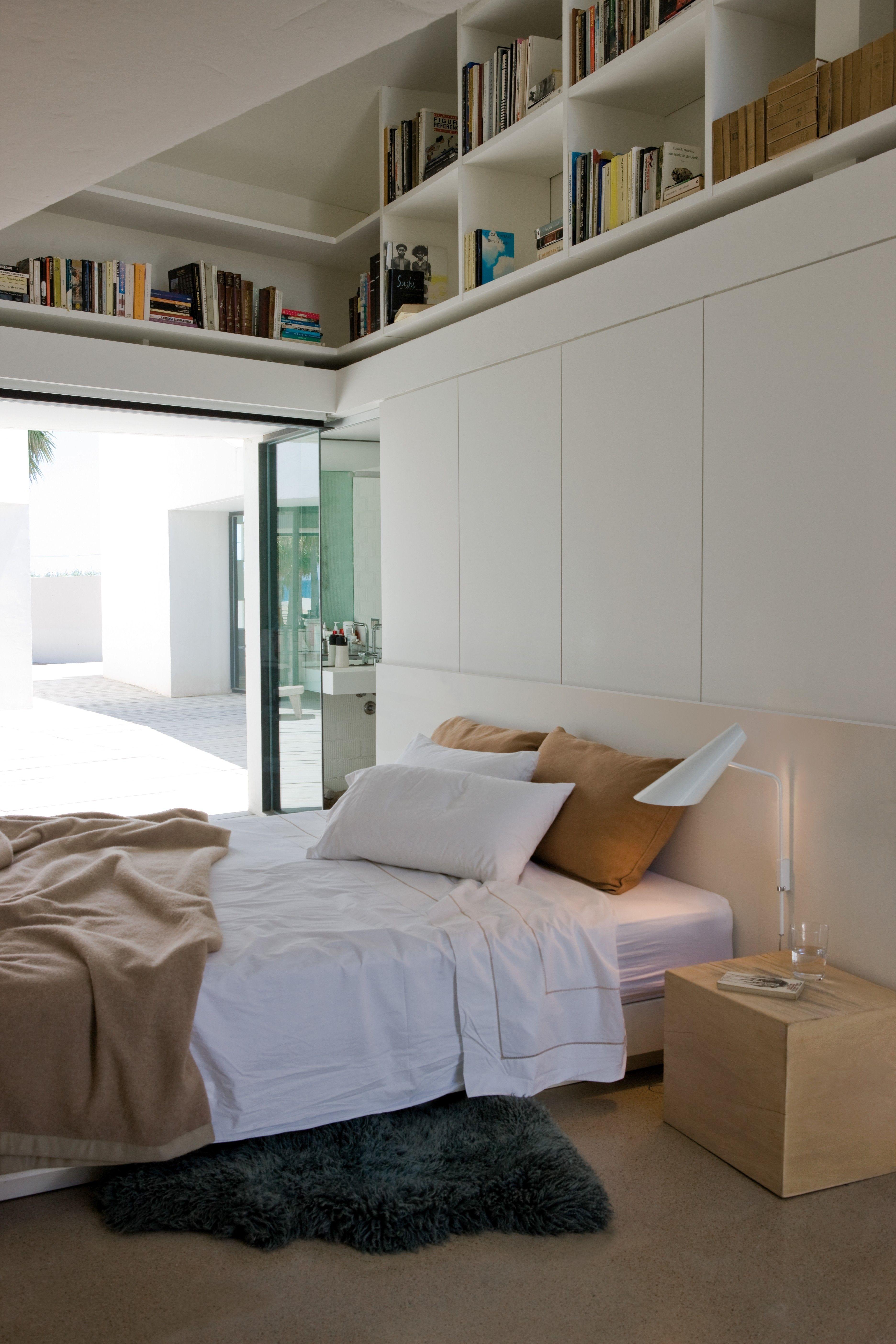 vibia icono 0725 weiß glänzend  kleines schlafzimmer