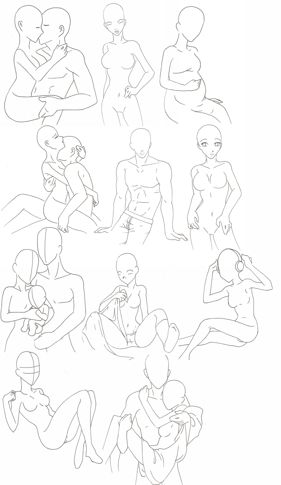 Pin by Sara Integurl on Love poses art (With images
