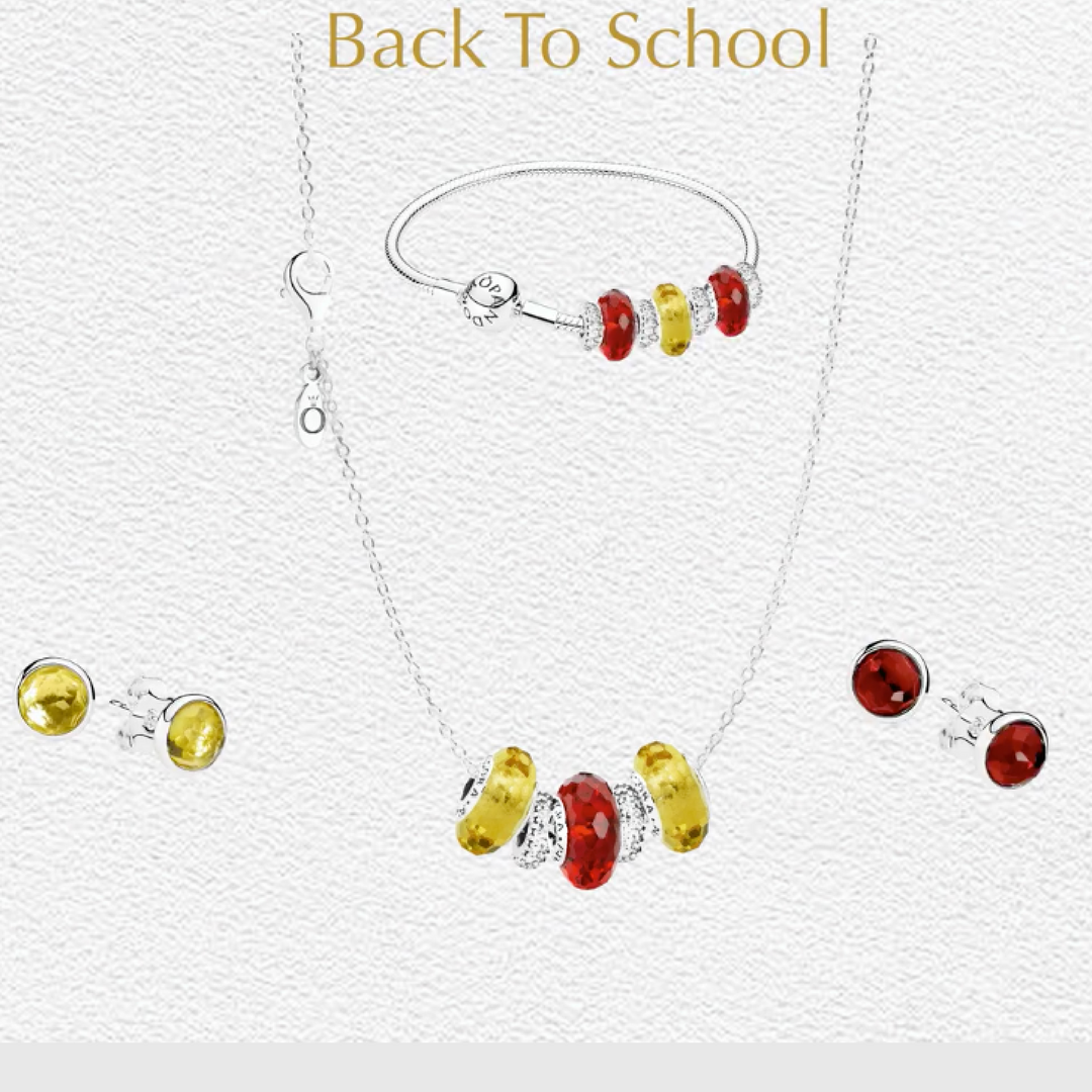Show Your School Spirit With Pandora Jewelry Take Advantage Of The Back To School Offer And Save 51 When You Purchase A Pandora Pandora Jewelry Pandora Rose