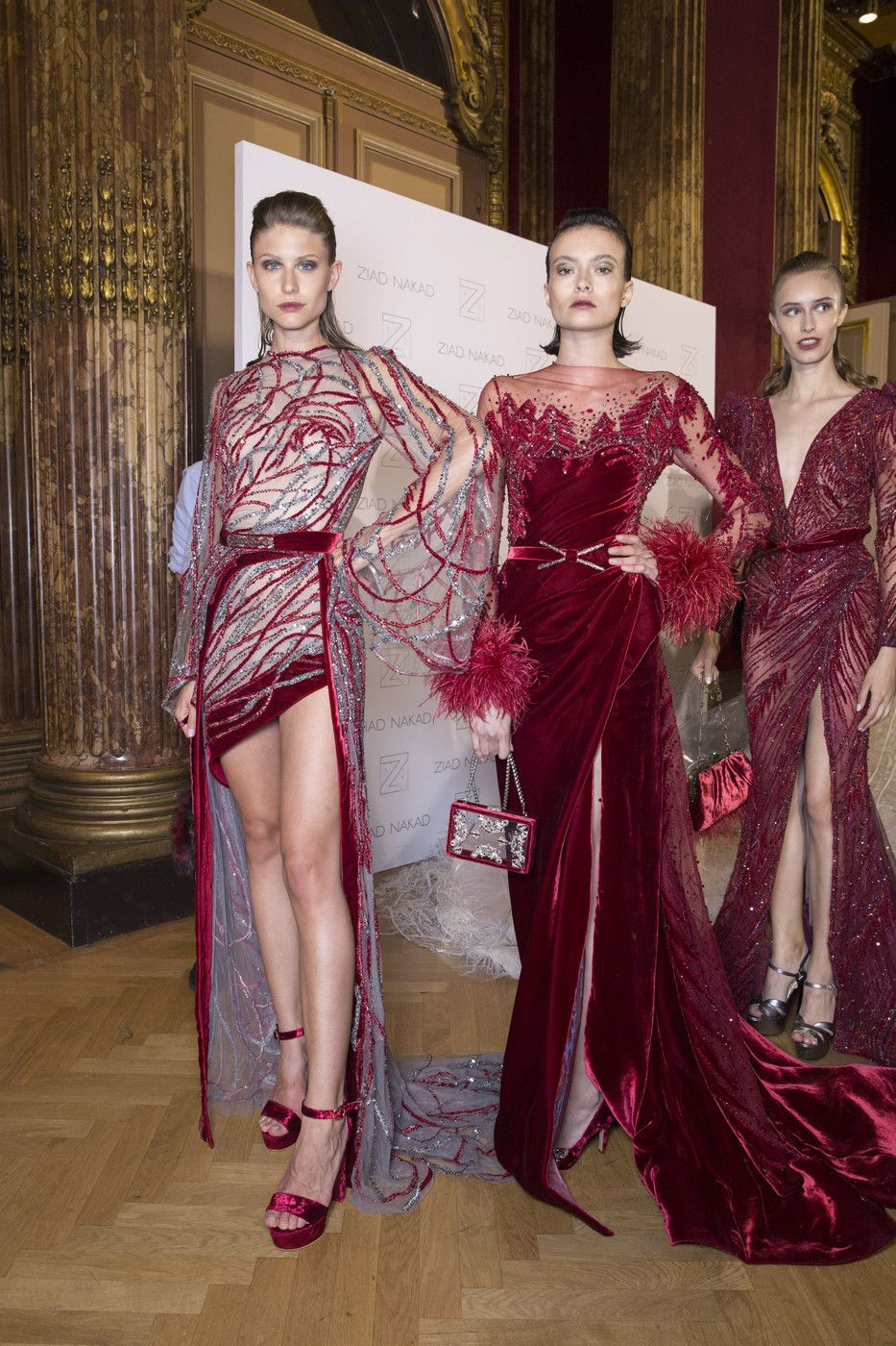 Ziad nakad at couture fall evening gowns u cocktail dresses