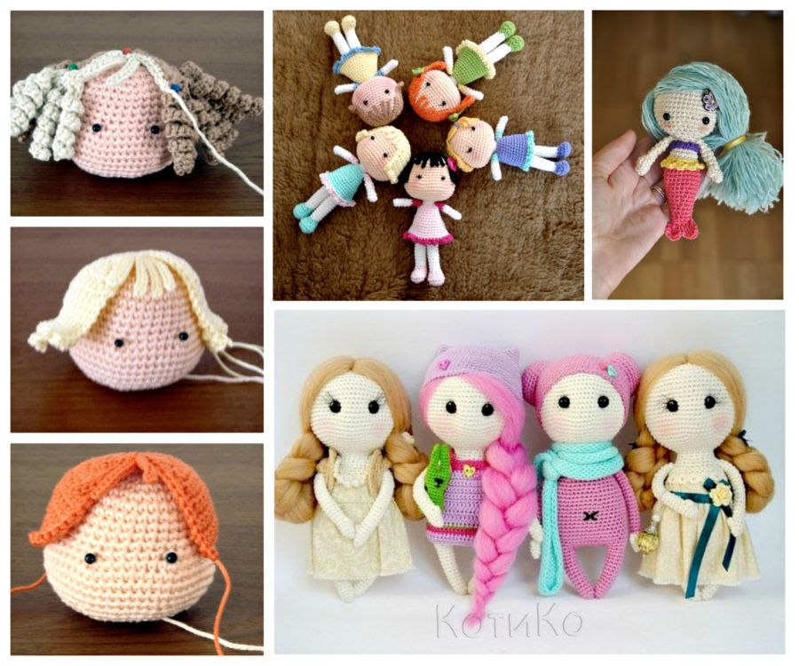 Crochet Dolls Free Patterns Amigurumi Video Tutorial Crochet Dolls