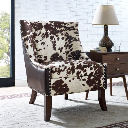 Chocolate Brown Accent Chairs.Chocolate Brown Hair On Hyde Accent Chair In 2019 Products