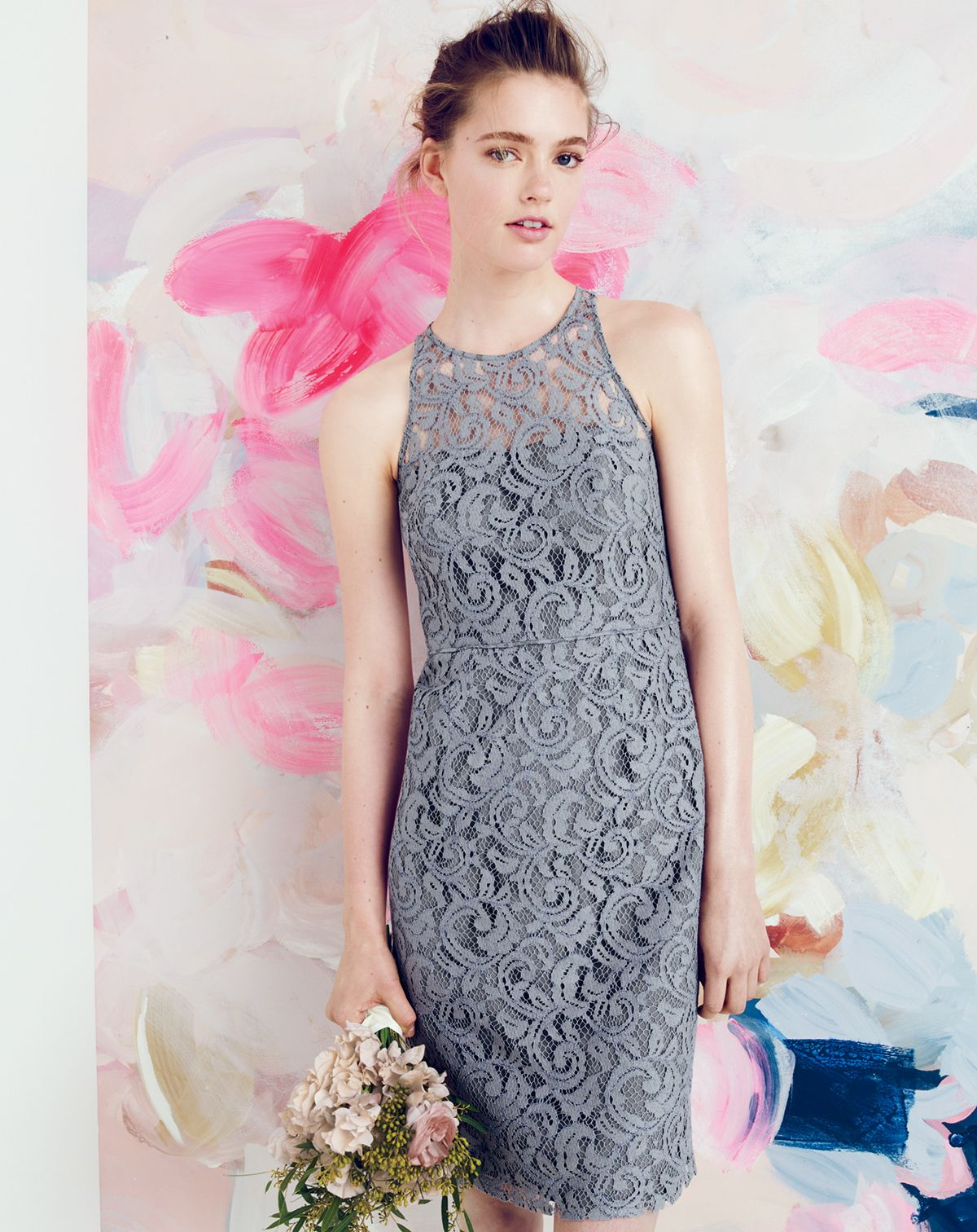 Aug 14 Style Guide J Crew Pamela Dress In Leavers Lace