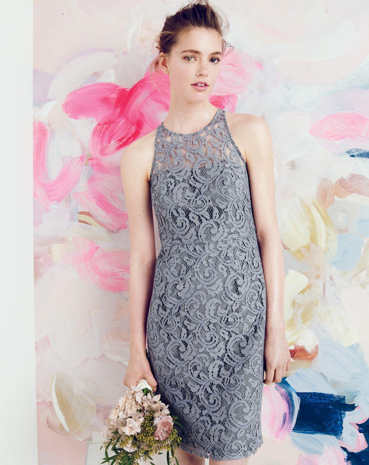 Jcrew pamela dress in leavers lace wedding ideas pinterest