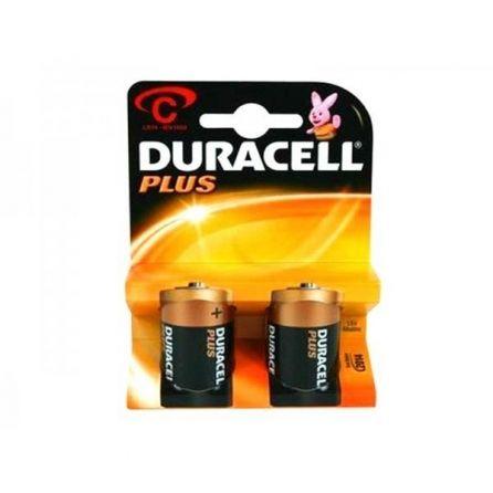 2 Piles C Lr14 Duracell Plus 1 5v Alkaline Lampe Torche La Pile Piles