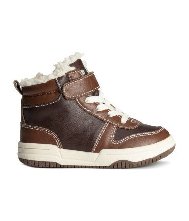 Product Detail | H&M US | Baby boy boots, Baby boots, Baby ...